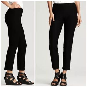 Eileen Fisher Black High Waisted Legging Pants